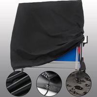 Black Waterproof Outdoor Garden Ping Pong Table Rain Protection Cover Blanket Wind Dustproof New