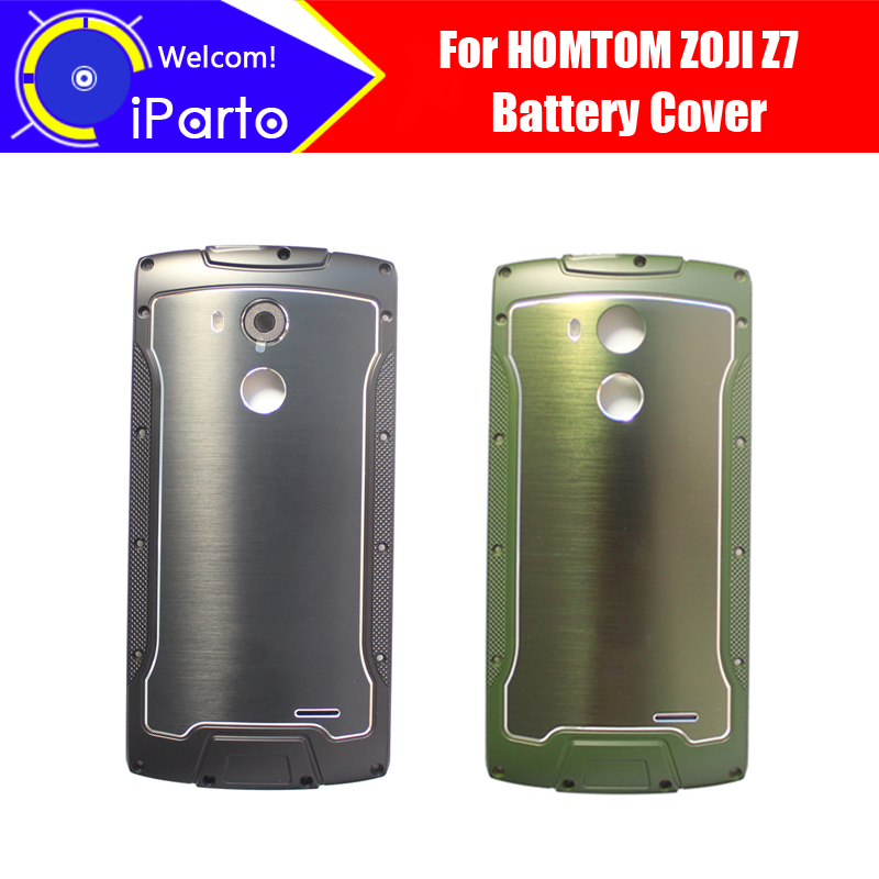 5.0inch HOMTOM ZOJI Z7 Battery Cover 100% Original New Durable Back Case Mobile