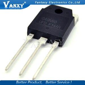 Image 4 - 10Pcs SGH40N60UFD Om 247 SGH40N60 40N60 G40N60 F40N60UFD TO 3P Nieuwe Mos Fet Transistor