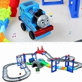 Thomas And Friends Electric Roller Coaster Train With Rainway Toy Kids Gift