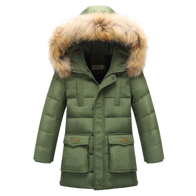 Xemonale High Quality Boys Thick Down Jacket 2018 Winter Children Long Sections Warm Coat Clothing Boys Hooded Down Outerwear casual 2016 winter jacket for boys warm jackets coats outerwears thick hooded down cotton jackets for children boy winter parkas