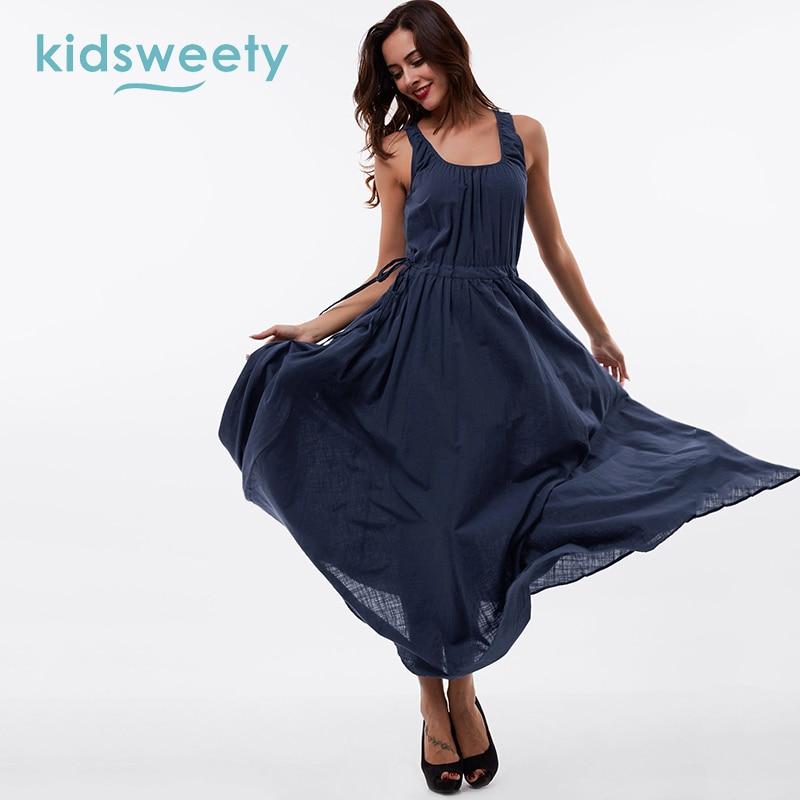 Casual Summer Maternity Women dress Sleeveless High Waist Long Sleeve Ladies Female Dress Mom Loose Casual Women Bench Dress