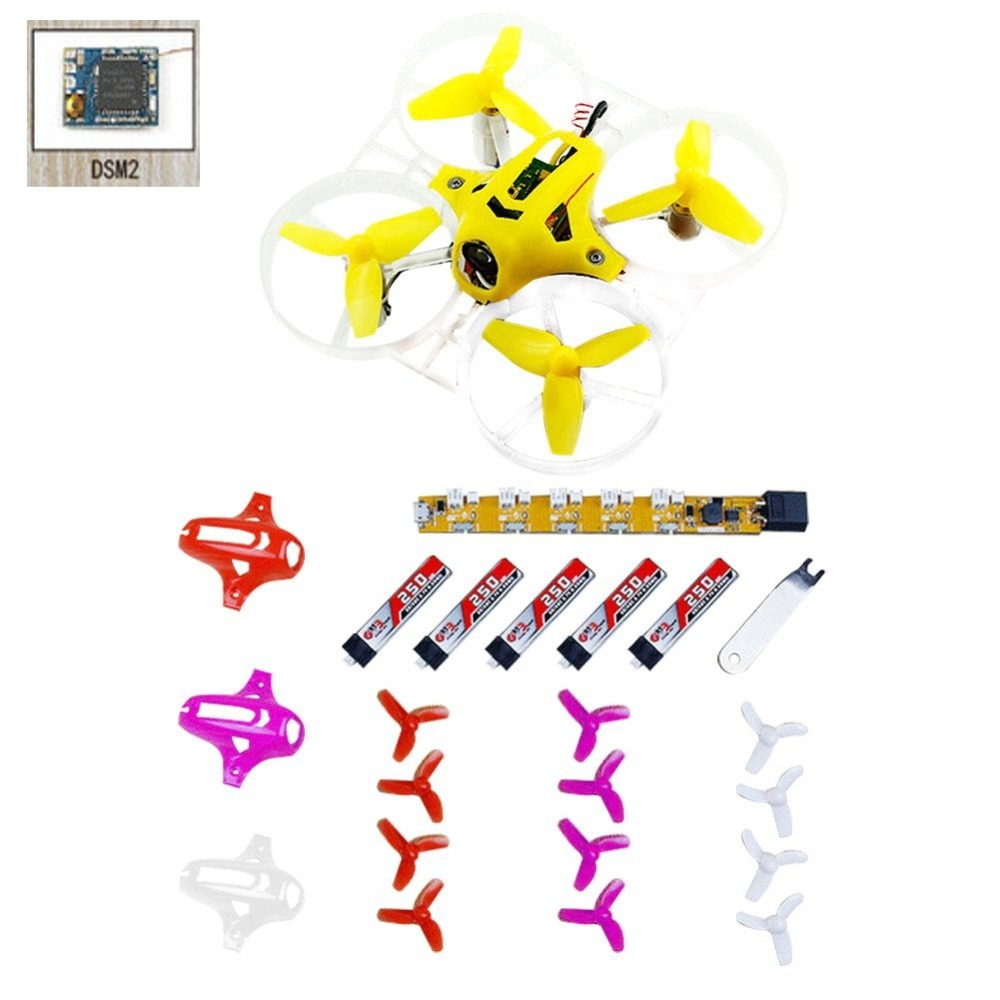 Tiny7 PNP FPV Mini Pocket Racing Drone Kingkong Quadcopter 800TVL Camera With DSM2/ FRSKY AC800/FLYSKY PPM/FUTABA FASST Receiver
