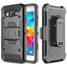 Для Samsung Galaxy Grand Prime Case Силиконовые Противоударный Броня Стенд Зажим для Ремня Case Для Samsung Galaxy Grand Prime G530 Крышка