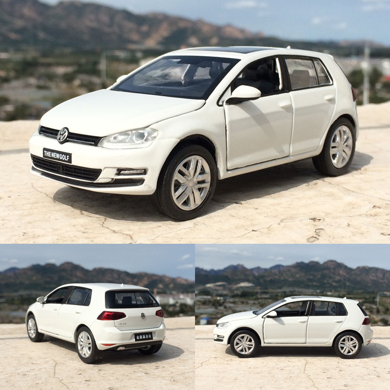 Hoge Simulatie Model Auto 1 32 Schaal Lichtmetalen Trek Volkswagen