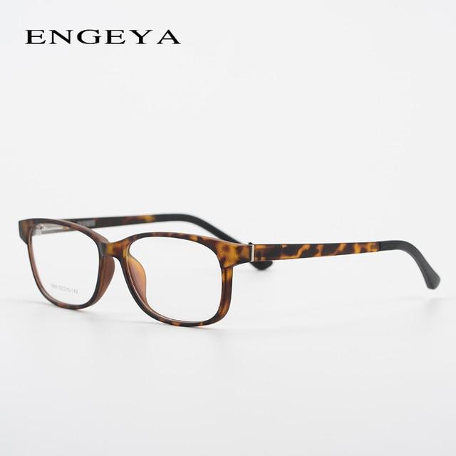 TR90 Men Glasses Optical Spectacle Frame Retro Square Transparent ...