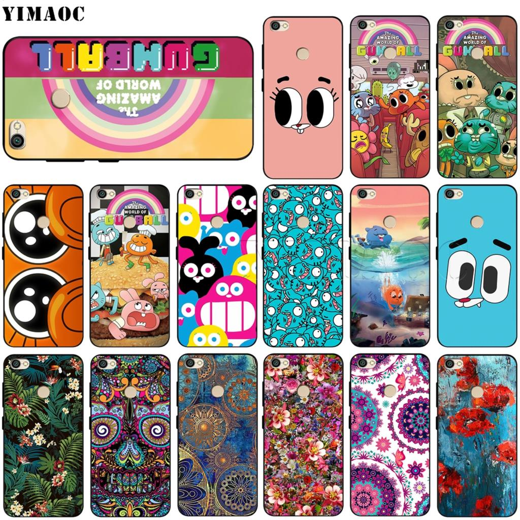 YIMAOC The <font><b>Amazing</b></font> World of Gumball Silicone Case for <font><b>Xiaomi</b></font> Redmi Note 4 4x 4a 5 5a 6 8 Pro Prime Plus image