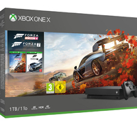 Microsoft Xbox One X 1TB + Forza Horizon 4 + Forza Motorsport 7, Xbox One X, Black, 8192 MB, GDDR5, 12288 MB, HDD