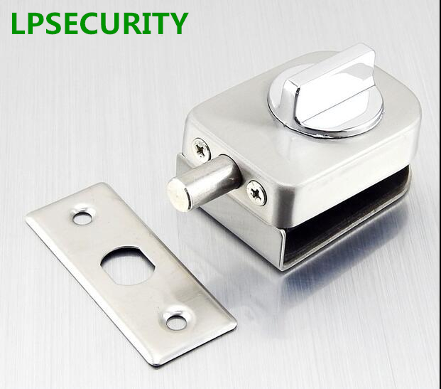 Lpsecurity Office Glass Door Lock Latche Stainless Steel