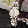 Chenxi natate top das mulheres marca de luxo strass relógios em aço inoxidável quartzo analógico design de moda esportes militares watches1240