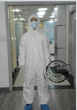 10PCS Disposable health antistatic protective work clothing dust-proof coveralls ,commercial, one-time clean clothes,jumpsuit.