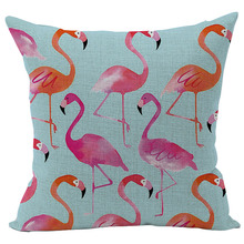 Tropical Patterned Pillow for Home Decor