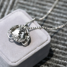Magic Photo Flash Box Necklace Memory Floating Locket Angel Wings Fashion Album for Lover Gifts