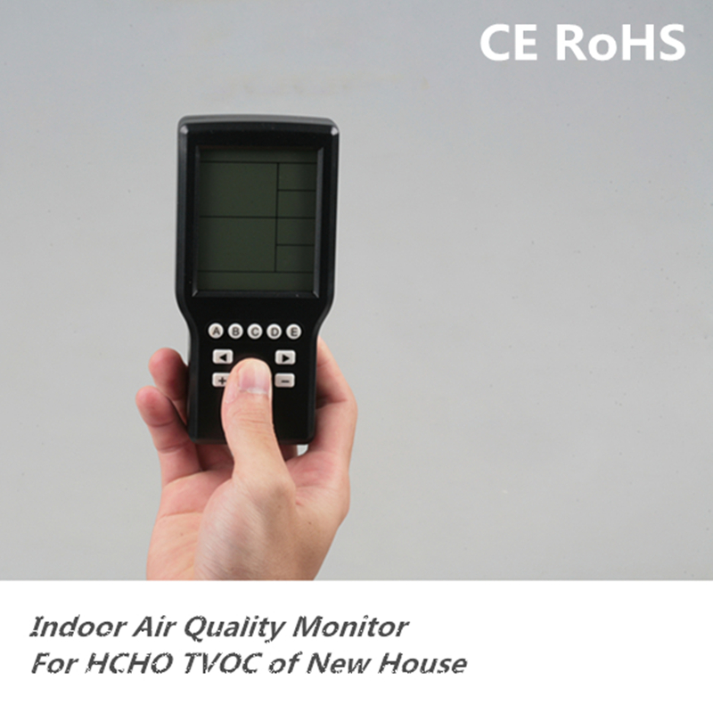 Free shipping Air tester indoor household formaldehyde detector air quality formaldehyde test equipment accuracy 1/1000  цены