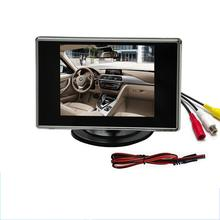 3.5inch TFT LCD Car Monitor android car Rear View Camera Assist Backup Reverse DVD Screen Multimedia display