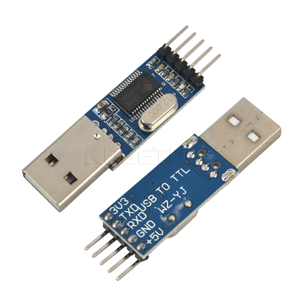 kebidumei Programmer Promotions PL2303 USB To RS232 TTL Converter Adapter Module For Arduino CAR Detection GPS Upgrade Board max485 ttl to rs485 adapter module for singlechip red