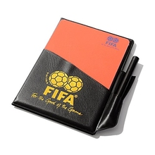 Football Referee Red Card Yellow Card Judge Case Soccer and Other Sports Professional Equipment Clear Bright Color