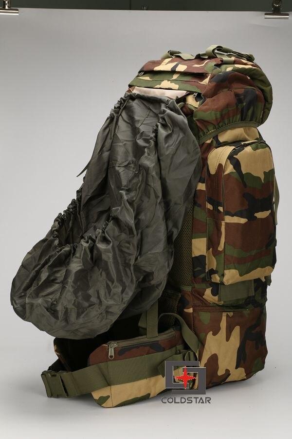 005 Large Capacity 65L Mens Outdoors Camping Tactical Travel Backpack Women Hiking Bag for Mountaineers Rain Cover Metal Frame чехол дождевик для большой сумки thule large pannier rain cover 100041