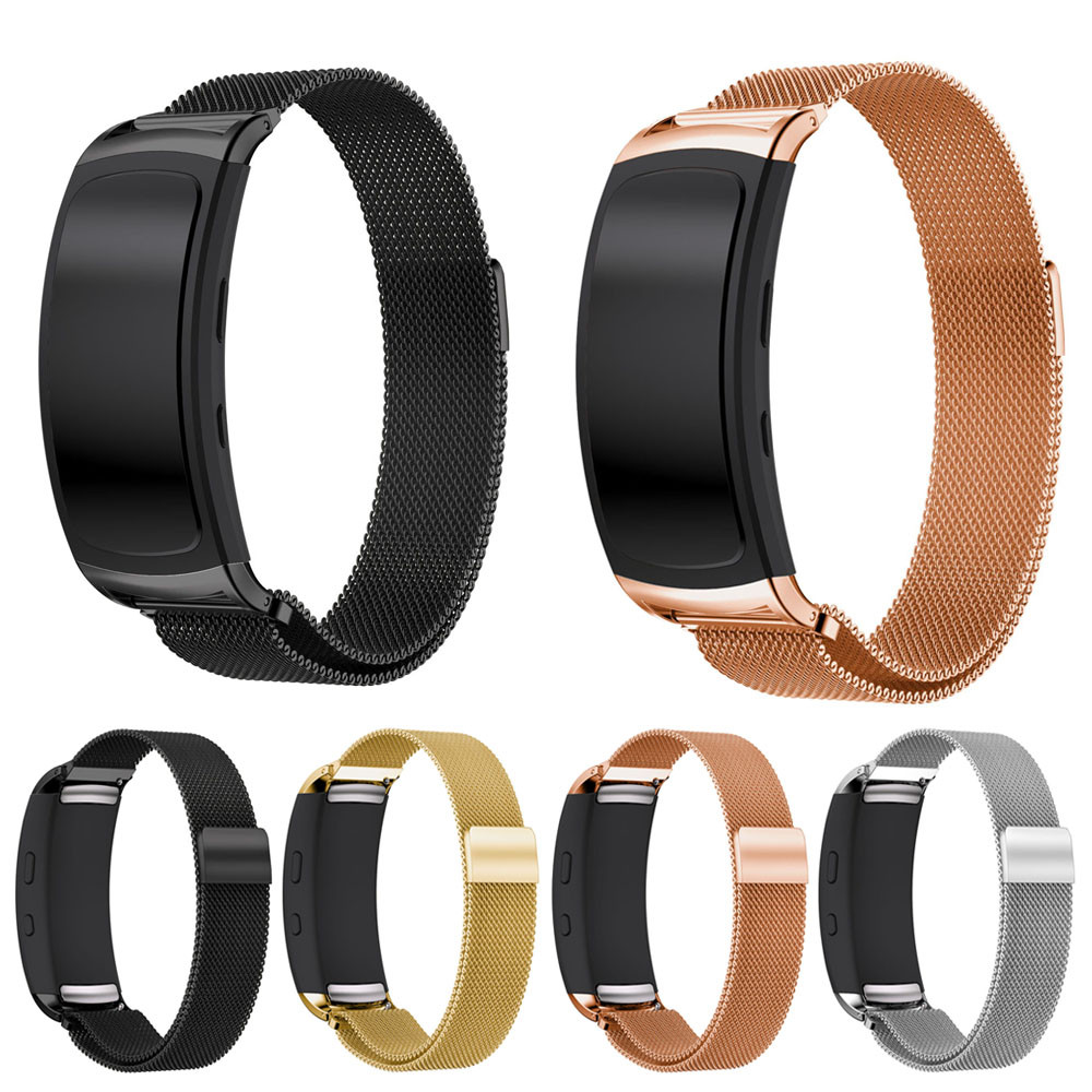 Smart watch Strap Stainless Steel Band Strap Bracelet Milanese Magnetic Loop  For Samsung Gear Fit2 Pro watch bandN.22 samsung gear fit в казани