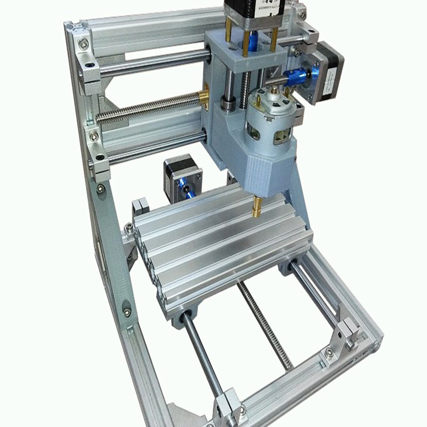 Mini macchina CNC da 1 pezzo Plastica fai-da-te, legno, acrilico, pvc, pcb, legno o materiale simile o materiale simile
