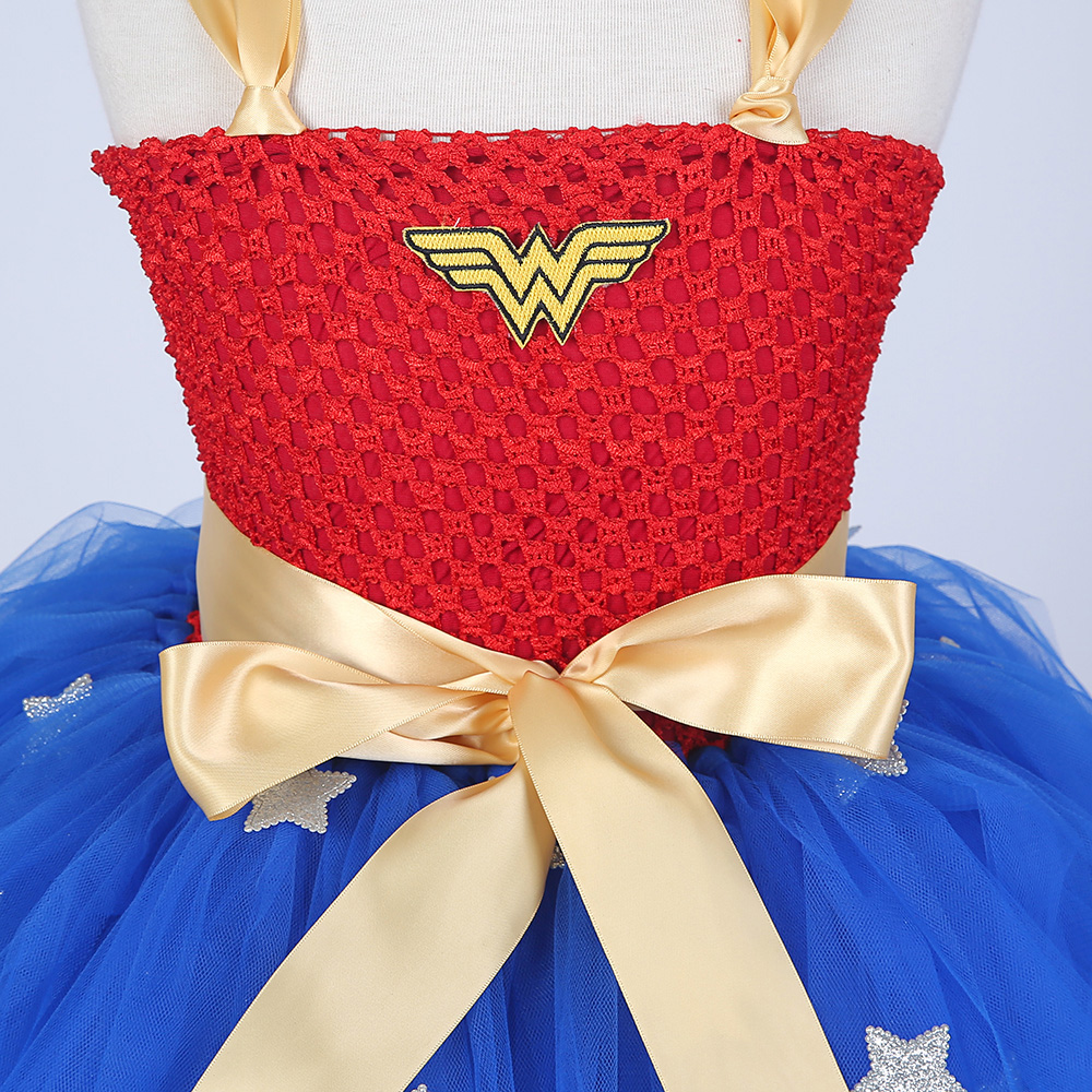New Girls fancy Dress Wonder Woman cosplay disfraz para niños niños - Disfraces - foto 2