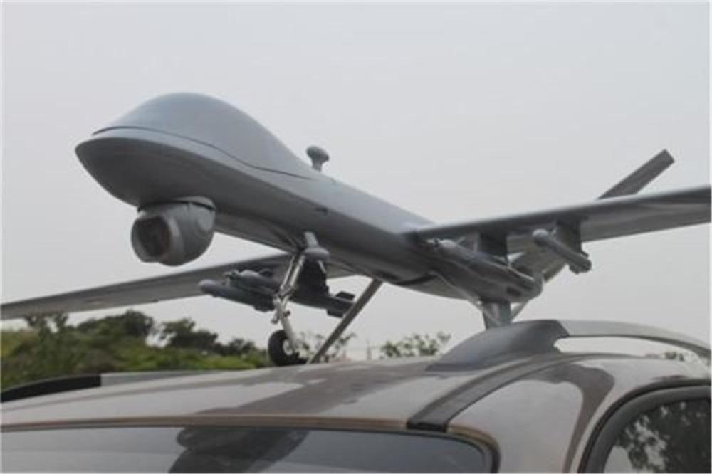 New arrival Fpv Drone MQ-9 UAV Scale Predator of Fiberglass/Balsa Construction FPV/UAV Composite Platform KIT 757 3 ranger ex long range fpv uav platform unibody big wweight carrie