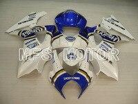 For Suzuki GSXR 1000 K7 2007 2008 Injection ABS Fairing Kits GSXR1000 K7 07 08 Lucky Strike White/Blue
