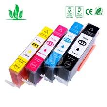 4 шт картридж совместимый для HP655 Deskjet 3525 4615 4625 5525 6520 6525 принтера