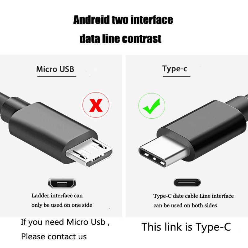 5 متر نوع C كابل علامة هواوي P30 برو P30 لايت حافظة USB C ملحقات الهاتف المحمول شاحن نوع-C شحن لهواوي نوفا 3 4