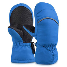 Windproof Mittens Thickening Warm Winter Gloves Baby Kids Winter Mittens Boys Girls Children Mittens Snowboard Gloves
