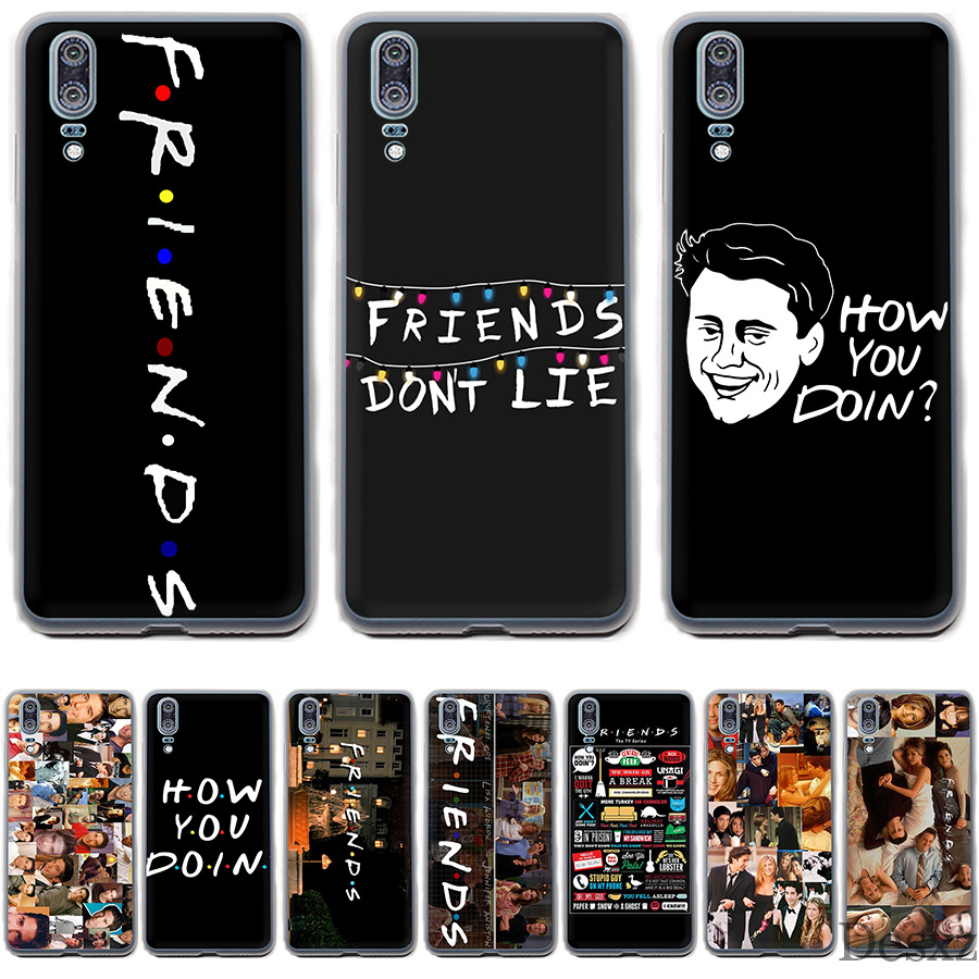Desxz Phone Case Friends Season TV For Huawei P Smart P8 P9 P10 P20 Lite Pro P20pro 2015 2016 2017 Cover image