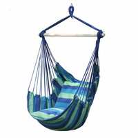 2019 NEW Portable Swing Chair Hammock Hanging Rope Chair Swing Seat for Indoor Outdoor Garden Hamak Chairs Dropshipping