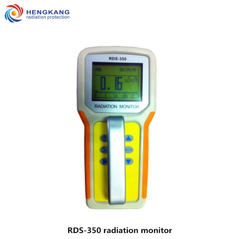 Factory direct sales RDS 350 professional nuclear radiation detector portable gamma and x ray radiation detector