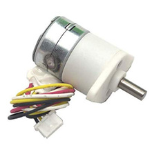 цена на Professional 5-12V Micro dc geared stepper motors Reduction ratio 100:1,15BY full metal gear box 2 phase 4 wire