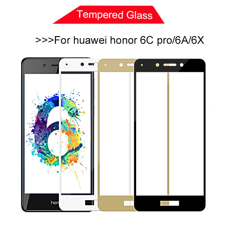 Protective Glass For Huawei Honor 6c Pro Screen Protector For Huawei Honor 6a 6x 6 X 6cpro Tempered Glass Huawey Honor6a 6x Film