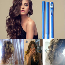 18 Pcs/set Rambut Ajaib Roller Magic Rambut Atlet Curling Putra Spiral Ikal Roller Magic Roller Magic Atlet Curling Putra 75 Cm 65 Cm 55 CM 50 Cm 45 Cm 30 Cm 20 Cm(China)