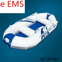 Inflatable Duos Rubber Boats Outdoor Sunbathe WATER PARK Cartoon Floating Fishing Ship Swimming Ring Life Buoy Sea Party L1861