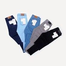 Осенние джинсы, женские черные джинсы, винтажные джинсы с высокой талией, женские весенние джинсовые штаны, высокие эластичные обтягивающие джинсы-карандаш, Стрейчевые джинсы для женщин