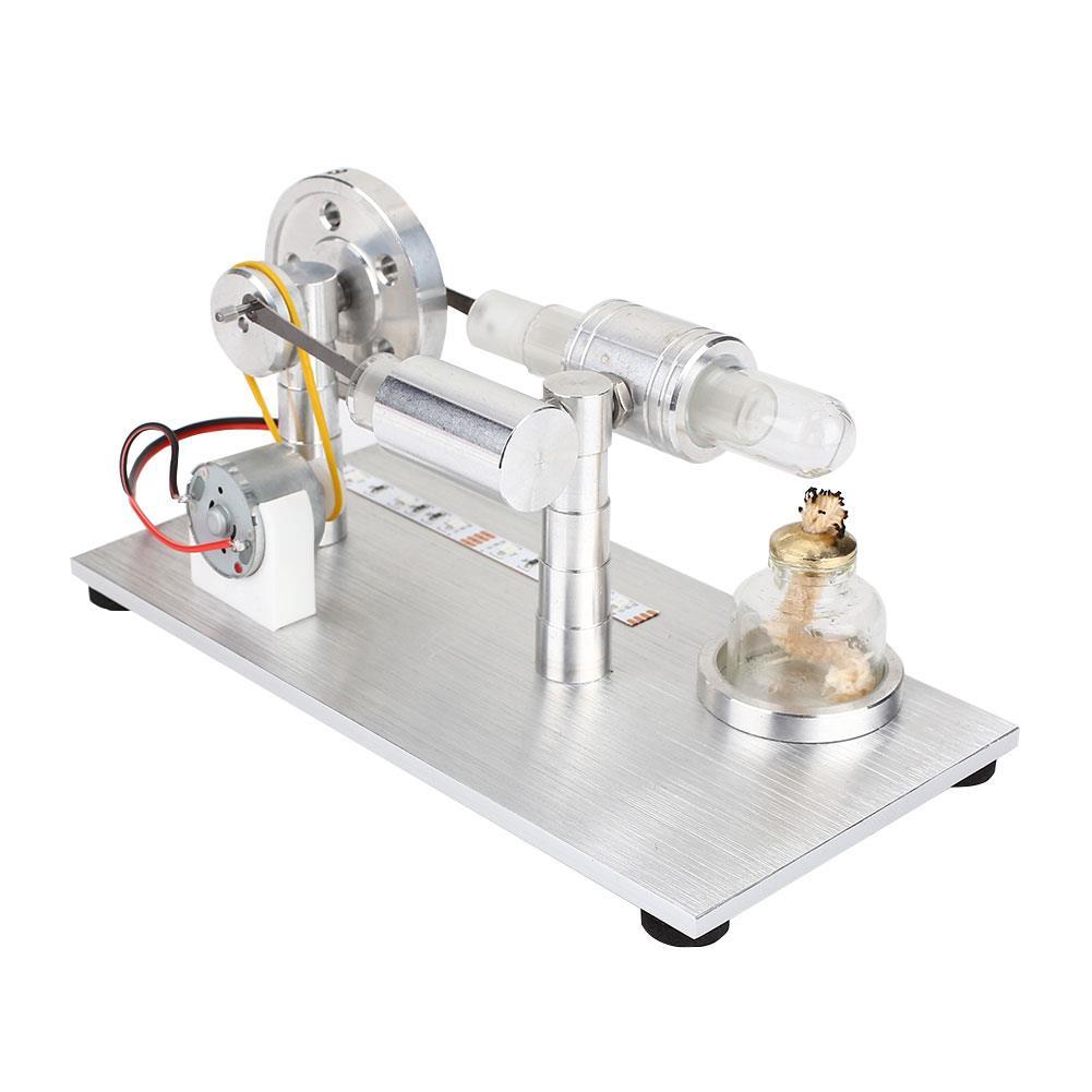 2b0c7ef814e Liga Motor De Ar Quente Stirling Ciência Brinquedos Edcuational Do Motor  Motor Perpétuo