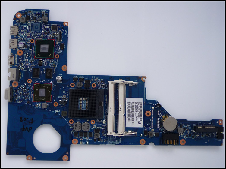 650486-001 for HP DV4-4000 Laptop motherboard for HP Notebook 650486-001 100% Tested and guaranteed in good working condition!! laptop motherboard for hp dv4 698395 001 system mainboard fully tested and working well