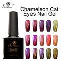 Saviland Magnet Cat Eyes Color Change Gel Nail Polish Diamond Color Uv Led Nail Gel Lak Semi Permanent Gel Varnish