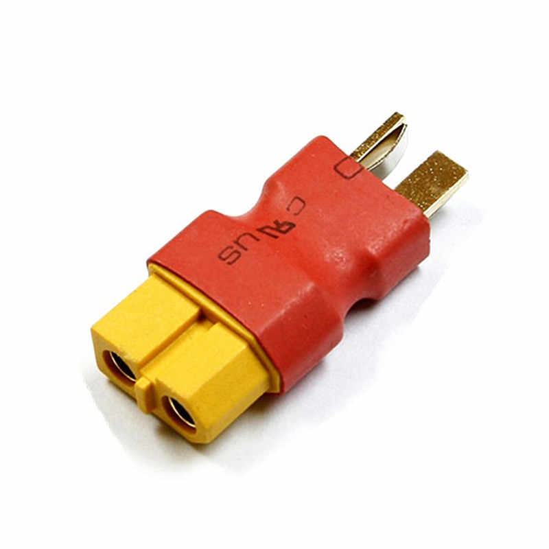RC XT60 Male To Deans Plug Female T Connector Adapter Car Plane Lipo Battery