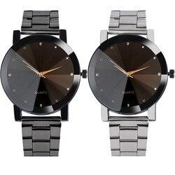 Luxury watches women fashion crystal bracelet wrist watch men mesh band quartz watch mens stainless steel.jpg 250x250