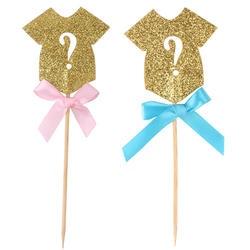 30 шт/партия Милая одежда Звезда Блеск торт Топпер для с изображением пирожного на день рожденья Детские флажки для душа вечерние свадебные