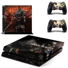 Game Dark Souls PS4 Skin Sticker Decal Vinyl for Sony Playstation 4 Console and 2 Controllers PS4 Skin Sticker