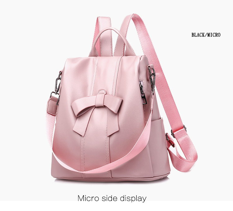 HTB1mvjNUMHqK1RjSZFPq6AwapXat - Leisure Women Backpack High Quality Leather Lady Anti Theft Shoulder Bags Lovely Girls School Bags Women Traveling Backpack