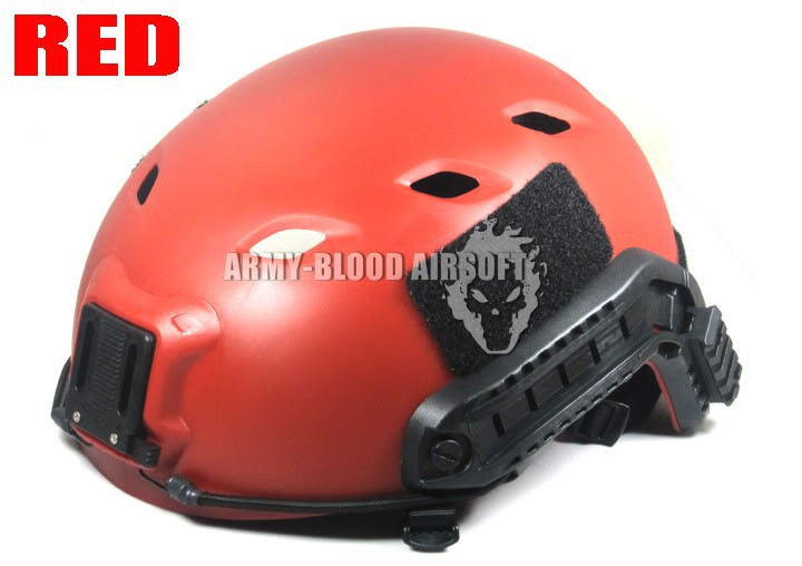 Military Version Of The Ops-Core FAST Base Jump Military Helmet Tactical Helmet RED Mc BK FG AOR1 TAN  Seals DW ATFG ACU AT DD