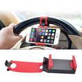 Universal Car Steering Wheel Bike Clip Mount Rubber Band Car Phone Holder Bracket For samsung J5 doogee x5 homtom ht7 Smartphone