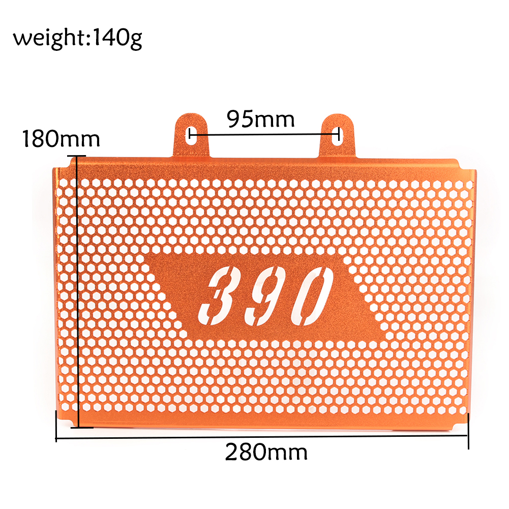 For <font><b>KTM</b></font> <font><b>390</b></font> <font><b>DUKE</b></font> <font><b>2017</b></font> 2018 Radiator Grille Guard Cover Protector image