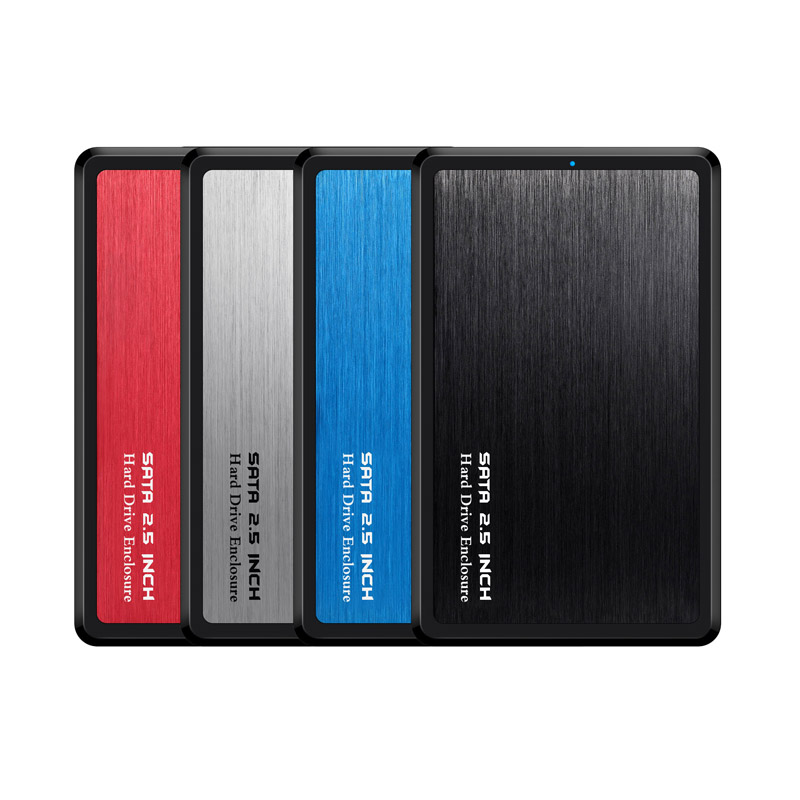 HDD Enclosure Metal-Case-Tool Hard-Disk-Drive External Ssd SATA Usb-3.0 Gbps 2TB Free-5